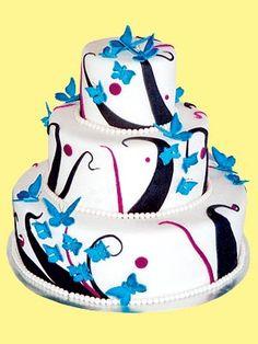 Winner: Best Cake in NEBRASKA at People.com (French vanilla cake with raspberry chocolate ganache filling by Sweet Art Wedding Cakes, $ 205.20) One of my favorites.