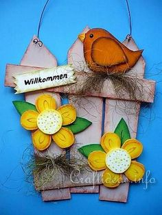 Creative Spring Wood Signs Easter Diy Decor And Treats 44
