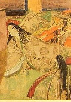Panel from the Tale of Genji scroll