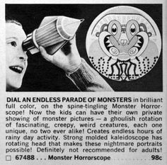 "Dial An Endless Parade of Monsters for 98¢ (""...on the spine-tingling Monster-Horrorscope!"")"