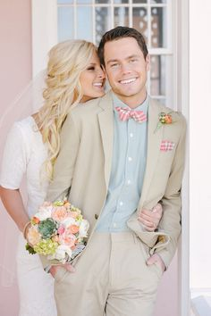 Look at this groom's suit and tie! Rebekah Westover Photography