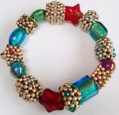 Dynasty beaded beads - Bracelet by Melanie de Miguel