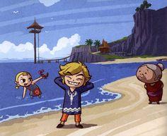 Legend of Zelda: Wind Waker: Promotional Art