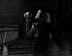 Dark Magician by A-Evil-Sorcerer