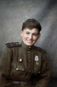 "Valentina Matyukhina (08.05.1915 – 23.12.1944) Guards senior lieutenant, master pilot of the 125th ""Marina M. Raskova"" Borisov Guards Bomber Regiment. Flew 53 missions, was killed at a combat mission."