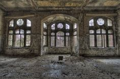 Hitler's abandoned hospital is one of the creepiest places on Earth