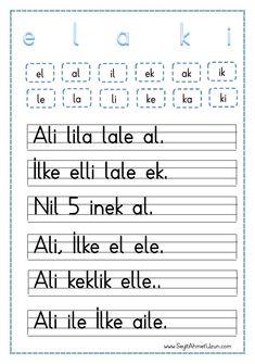 Dik Temel Harfler Elakin Okuma Metni pdf formatında özgün bir çalışma olarak düzenlenmiştir. Çalışmalarımızın hepsini ücretsiz olarak indirip kullanabilirsiniz. İyi Çalışmalar… Tüm çalışmalarımızı kendi emeklerimizle..