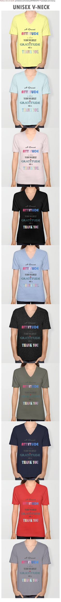 Gratitude ~ Xmas Spirit Quote Unisex V-Neck by weivy Quote Shirts, Shirts With Sayings, Spirit Quotes, Positive Things, Presents For Friends, Hoodies, Sweatshirts, Big Kids, Cool Shirts