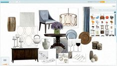 Olioboard: Online Interior Design Mood Board App