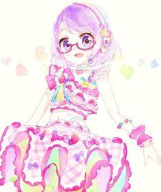 Koharu and Rainbow Berry Parfait