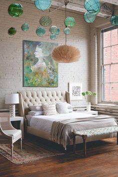 Your bed should be as cozy as possible. How do you decorate your sleep design ideas house design decorating before and home design room design design ideas house design Home Bedroom, Bedroom Decor, Master Bedroom, Bedroom Ideas, Bedroom Designs, Brick Bedroom, Ocean Bedroom, Shabby Bedroom, Bedroom Ceiling