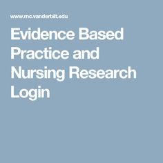 nursing research paper sample