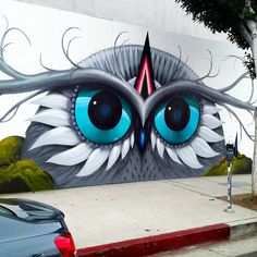Share your graffiti and Street Art here. Street Art Banksy, Street Art News, Murals Street Art, 3d Street Art, Amazing Street Art, Mural Art, Street Artists, Graffiti Art, La Art
