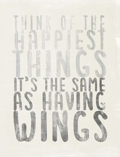 Think of #happy things