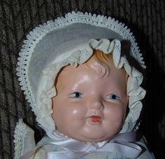 ANTIQUE COMPOSITION Baby Doll TOY PRODUCTS MFG CO | Dolls & Bears, Dolls, Antique (Pre-1930) | eBay!