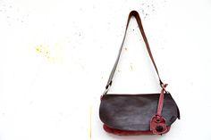 borsa artigianale in pelle e cuoio handmade leather shoulder bag