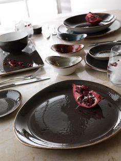 Craft Grey Glamour, Su agradable color neutral ofrece una plataforma de contraste profundo, sus platos se verán más atractivos y perceptiblemente más deliciosos.