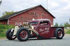 Hot Rod pick-up ratrod style