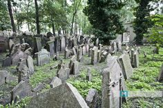 A Jewish Cemetery in Prague where there are only 12,000 tombstones and 100,000+ people buried. Heartbreaking.