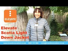 Scotia Ladies Light Down Jacket   Corporate Clothing Jackets  in South Africa - VIDEO