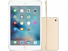 Awesome iPad mini 2017: iPad Mini 4 Apple 128GB Dourado Tela 7,9 Retina - Wi-Fi Processador M8 Câmera 8MP + Frontal  TABLET  IPAD  KINDLE Check more at http://mytechnoshop.info/2017/?product=ipad-mini-2017-ipad-mini-4-apple-128gb-dourado-tela-79-retina-wi-fi-processador-m8-camera-8mp-frontal-tablet-ipad-kindle