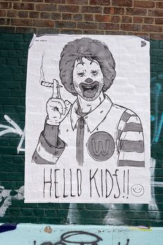 Hello Kids - Williamsburg Street Art | Flickr: Intercambio de fotos