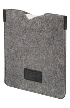 Men's Sons of Trade 'Index' Tablet Sleeve - Grey