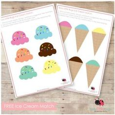 links to lots of free file folder printables
