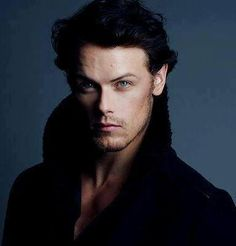 Sam Heughan - cast to play the iconic Jamie Fraser from Diana Gabaldon's Outlander series