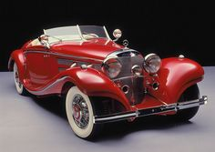 Mercedes Benz 500K Spezial Roadster 1935.                                                                                                                                                      Plus