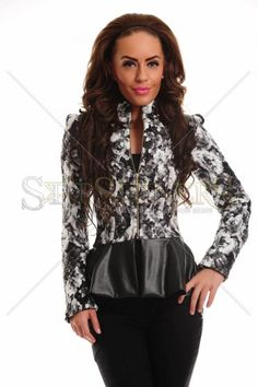 LaDonna Radiant Flash Black Jacket