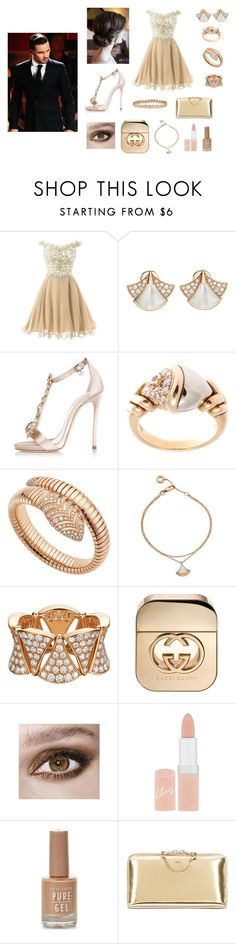"""☆"" by aldi-mix on Polyvore featuring beauty, Bulgari, Dsquared2, Gucci, Rimmel, Chloé, Ellen Hunter and Payne"