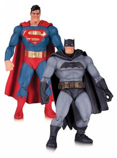 Batman: The Dark Knight Returns ~ Superman and Batman 2-pack [Action Figure] by DC Collectibles