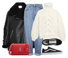 Untitled #4915 by ericacavaco12 on Polyvore featuring polyvore, fashion, style, I Love Mr. Mittens, Acne Studios, Topshop, Vans, Yves Saint Laurent and clothing