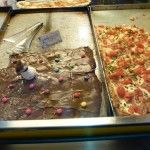 Genoa, Italy has every taste of focaccia you'd ever dream of, including focaccia topped with nutella!