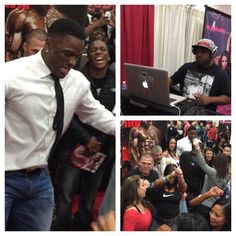 #formulation1 CEO Javon Walker, team, DJ and customers @ASF2015 at booth #1657 ..Tuned up for what?