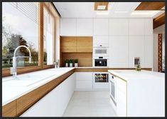 Küche Kitchen ideas with white countertop - Little Piece Of Me Keeping Up With Trends In Home Effici Large Kitchen Island, Eat In Kitchen, Diy Kitchen, Kitchen Decor, Kitchen Ideas, Miele Kitchen, Faucet Kitchen, Kitchen Pictures, White Countertops