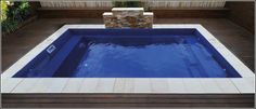 Diy Swimming Pool, Fiberglass Swimming Pools, Family Pool, Small Buildings, Plunge Pool, Breezeway, Small Studio, Outdoor Living, Outdoor Decor