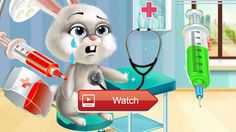 Play Animals Doctor Pet Care Kids Games Fun Animal Animals Doctor Pet Care Kids Games for Children  Farm Animals Hospital needs a new…