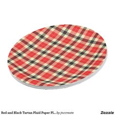 Red and Black Tartan Plaid Paper Plates  sc 1 st  Pinterest & Turquoise and White Checkered Paper Plates