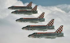 "EE/BAC Lightning F.3, 56 Squadron ""Firebirds"", Royal Air Force"
