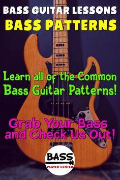 Bass Guitar Scales, Bass Guitar Chords, Learn Bass Guitar, Baritone Guitar, Music Chords, Bass Guitar Lessons, Guitar Lessons For Beginners, Learn To Play Guitar, Guitar Songs