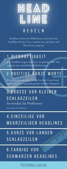 Warum Headlines so wirken wie sie wirken … Pinterest Profile, Content Marketing, Storytelling, Weather, Writing, German Language, Info Graphics, Inbound Marketing
