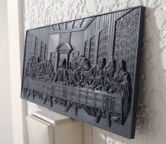 Last Supper printed by De 3D Printman