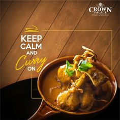 Hotel Crown Palace served the best Chicken Curry in town. Hot appropriately spiced and yummy. Come and treat yourself to this fine chicken dish. Food Graphic Design, Food Poster Design, Menu Design, Food Design, Design Design, Texas Chili, Social Design, Beste Brownies, Restaurant Poster