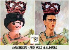 Astrid Köhler: Masterpieces recreated in Playmobil Tableaux Vivants, Star Wars Personajes, Famous Artwork, Diego Rivera, Arte Pop, Graffiti Art, Legos, Caricature, Mixed Media Art