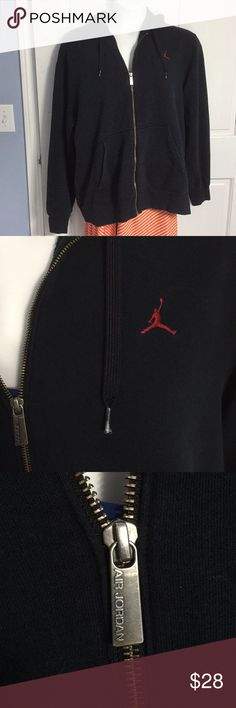 987ee60a61cb Men s XL Jordan Hoodie- Excellent See pictures- plastic tips on strings are  unraveled a
