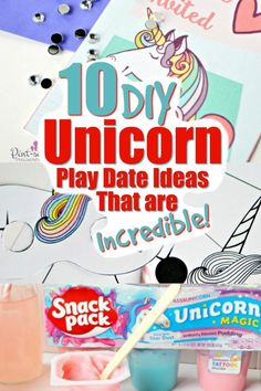 10 DIY Unicorn Play