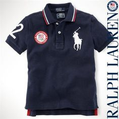 Youth Ralph Lauren Olympics Polo