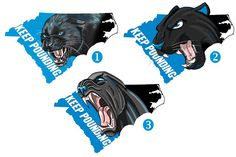 Panther Nation, Carolina Panthers, Wooden Signs, Lion Sculpture, Statue, Cats, Man Cave, Pencil, Illustrations